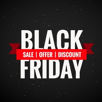 Black Friday vente au rabais et l'offre