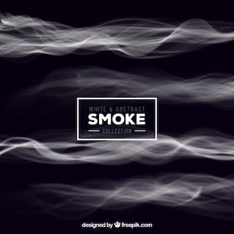 Blanc abstraite fumée fond