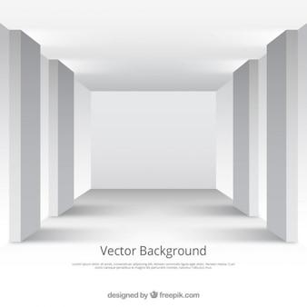 Blanc chambre studio