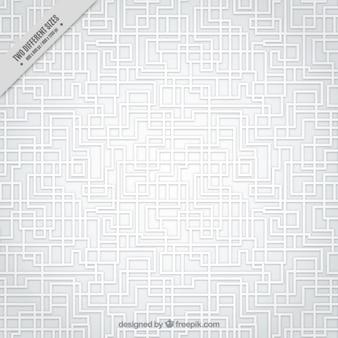 Blanc labyrinthe motif