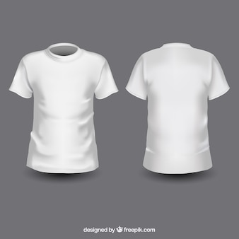 Blanc T-shirts