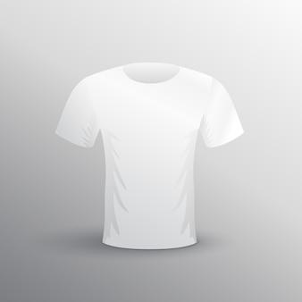 Blank maquette tshit blanc pour la publicité