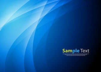 blue abstract wave background vector graphic