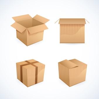 Boîte et icônes de paquet