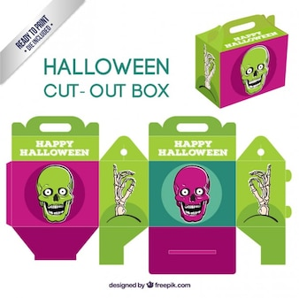 Boîte Halloween découpe