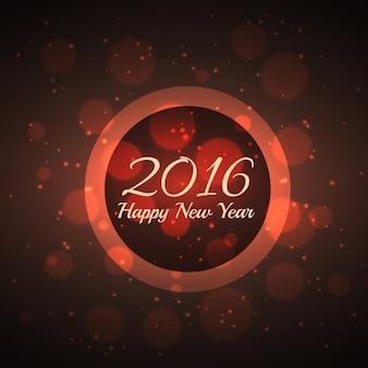 Bokeh fond du Nouvel An 2016