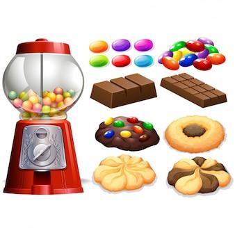 Bonbons et chocolats collection