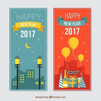 Bonne année 2017 bannières