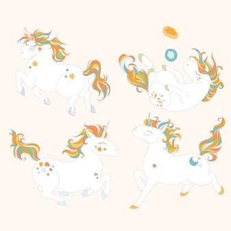 Bonne collection de licorne