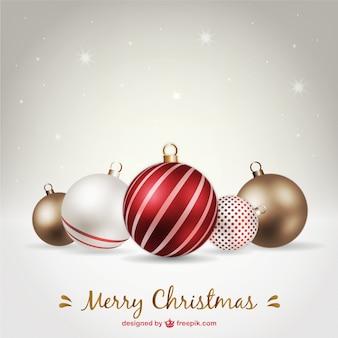 Boules de Noël Set