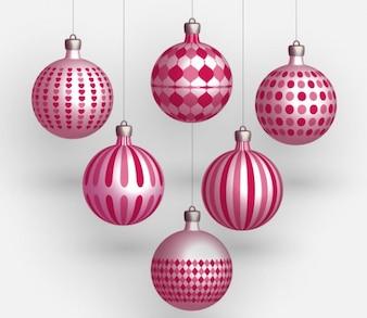 Boules de Noël Vector