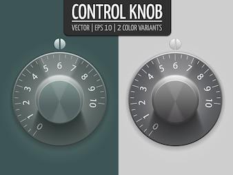 Boutons de contrôle du volume, illustration vectorielle. Élément UI pour votre conception. eps10