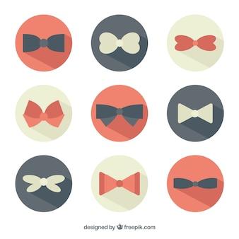 Bow icônes de cravate