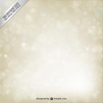 Brillant fond de flocons de neige dans le style abstrait