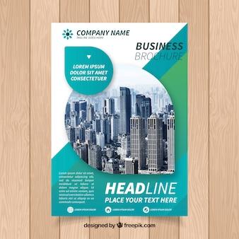 Brochure commerciale créative