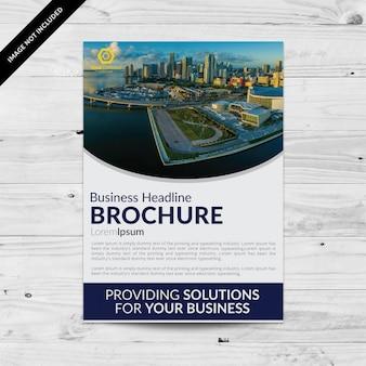 Brochure commerciale design élégant