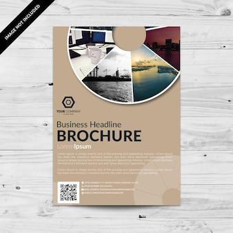 Brochure commerciale élégante