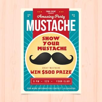 Brochure créative du parti Movember