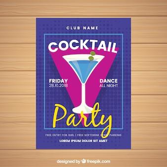 Brochure de cocktails