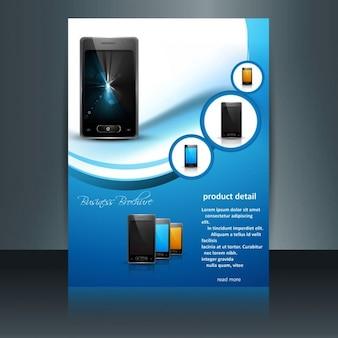 Brochure de téléphone mobile