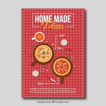 Brochure Nice pizzas avec nappe
