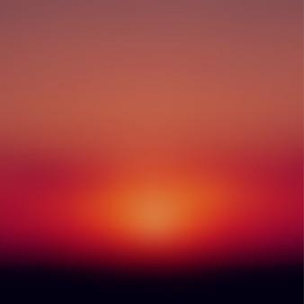 Brouillé coucher de soleil fond