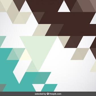 Brown et de menthe fond géométrique