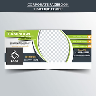 business Facebook couverture de chronologie