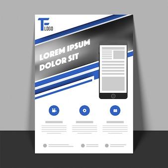Business Flyer, Template ou Banner design.