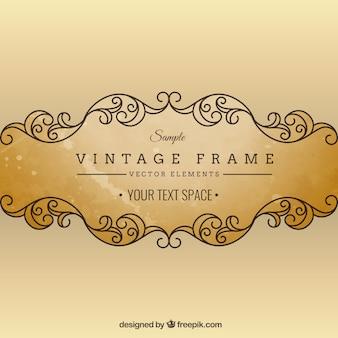 Cadre ornemental Vintage