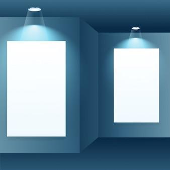 cadre photo dans la galerie intérieure
