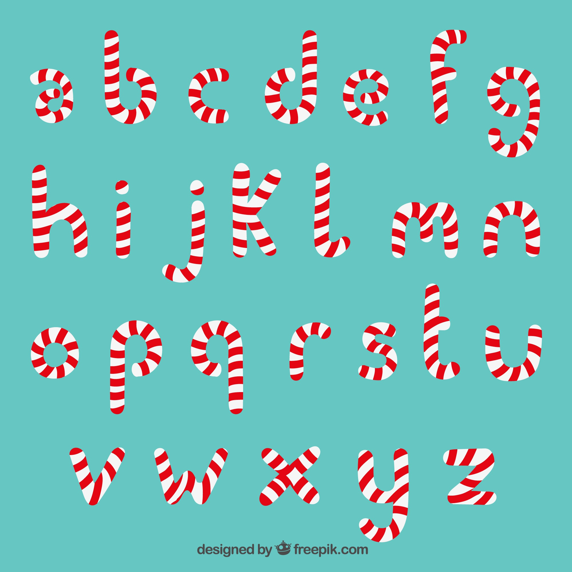 Candy Cane typographie