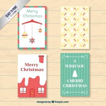 Card Set de Noël