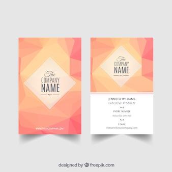 Carte corporative élégante