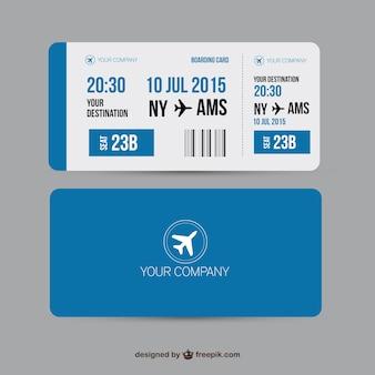 Carte d'embarquement