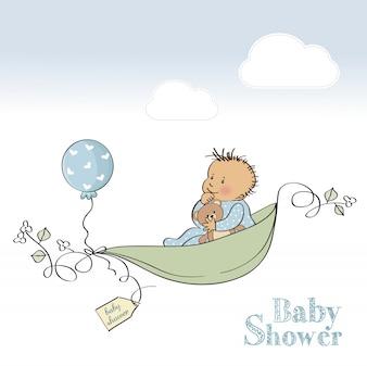 Carte de douche bébé