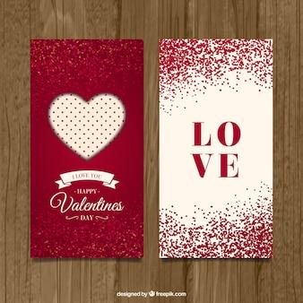 Cartes de jour de valentine mignon