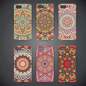 Cas de téléphone avec mandalasv