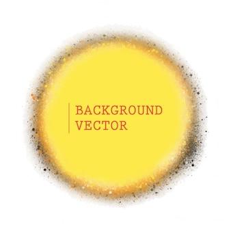 Cercle fond jaune