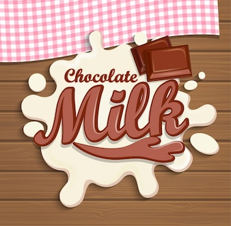 Chapelle de chocolat au lait.