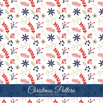 Christmas pattern Floral