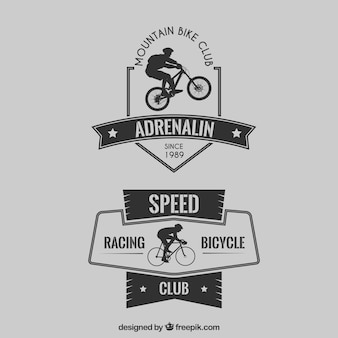 Club de vélo de badges