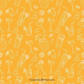 Cocktails Sketchy motif