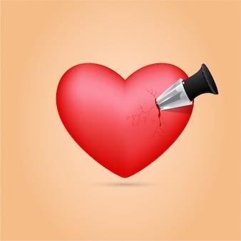 Poignard vecteurs et photos gratuites - Coeur avec des photos ...