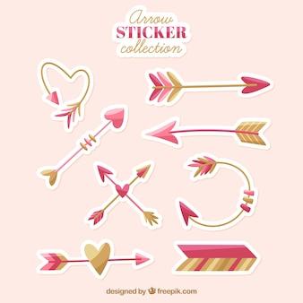 Collection Arrow sitcker avec un style charmant