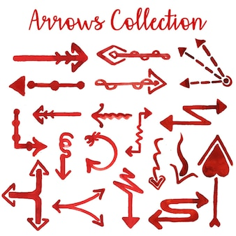 Collection Arrows Aquarelle