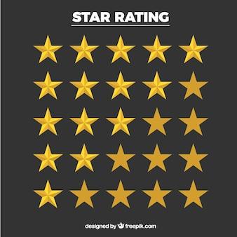 Collection d'étoiles