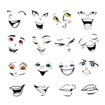 Collection d'expression faciale