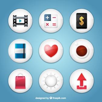Collection d'icônes d'applications