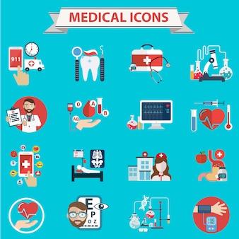 Collection d'icônes médicaux